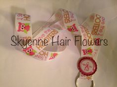 Breast cancer awareness lanyard keychain on Etsy, $5.00