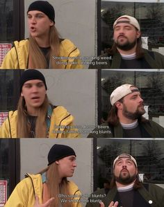 Jay and Silent Bob. I remember singing this with @Samantha Hasson haha