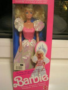 Barbie - Meine erste Barbie Prinzessin, 1989 - Und ich habe sie immer noch!