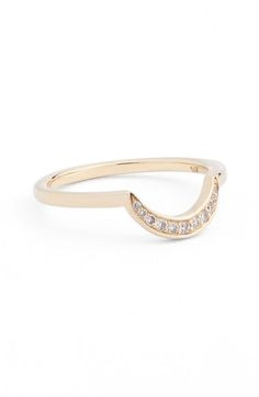 Anna Sheffield New Moon Ring available at #Nordstrom