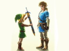 Famitsu has released a new, already iconic piece of Breath of the Wild art for the game's launch