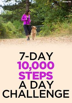7-Day 10,000 Steps A Day Challenge #fitness #challenge