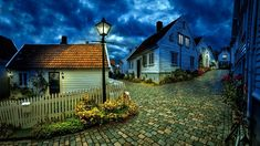 Little Houses Stone Road - Home Decor Ideas Johor Bahru, Hdr Photography, Landscape Photography, Tante Emma Laden, 1366x768 Wallpaper, Stavanger Norway, Stone Road, Poitiers, City Sky