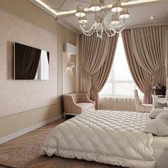 Bedroom Lighting Apartment Curtains 25 New Ideas Modern Luxury Bedroom, Master Bedroom Interior, Luxury Bedroom Design, Room Design Bedroom, Bedroom Furniture Design, Home Room Design, Luxurious Bedrooms, Home Decor Bedroom, Dream Rooms