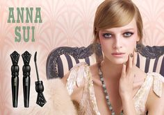 Ine Neefs for Anna Sui Beauty SS 2015 Campaign by Steven Meisel