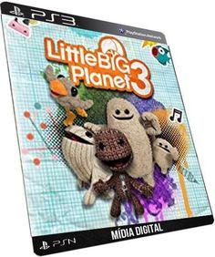 LittleBigPlanet 3 PS3 GAME DIGITAL PSN PLAYSTATION STORE