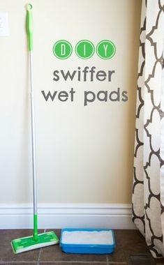 It's so easy to make your own swiffer wet pads with 3 simple ingredients. Say no nasty chemicals found in the store bought version!