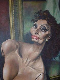 Sophia Loren by Sebastian Kruger