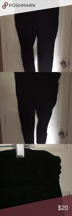 Torrid Stretchy Slim Black Pants Stretchy slim black trousers. Elastic waistband. Feels like wearing pajamas but looks great for work!  Size 3. Torrid. torrid Pants Skinny