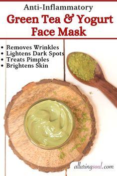 5 DIY Yogurt Face Mask For Bright - Christmas Deesserts Oats Face Mask, Yogurt Face Mask, Pimple Mask, Face Mask For Spots, Face Masks, Dark Spot Remover For Face, Moisturizing Face Mask, Beauty Hacks Skincare, Skin Brightening
