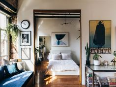 a tiny one-bedroom apartment in NYC