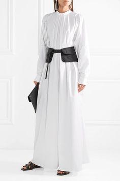 https://www.net-a-porter.com/be/en/product/1045189/jil_sander/lattice-trimmed-pleated-cotton-poplin-maxi-dress