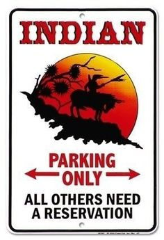 A little Native American humor