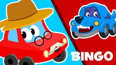 """We bring you our own special version of classic rhyme """" BINGO Song"""" with Little red car. Let's sing it. #bingo #learning #nurseryrhymes #kidssongs #parenting #rhymes #kids"""