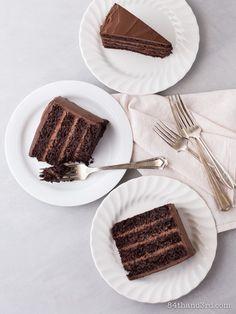 Best Ever bezglutenowe ciasto czekoladowe