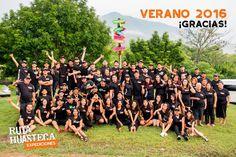 Todo un éxito nuestra temporada #Verano2016 ¡Gracias a todos y cada uno de los miembros de nuestro #crew por trabajar con pasión para ofrecer experiencias de viaje inolvidables pero sobretodo gracias a todos los #expedicionarios que nos eligieron como sus compañeros de viaje!  #WeLoveAdventure www.rutahuasteca.com