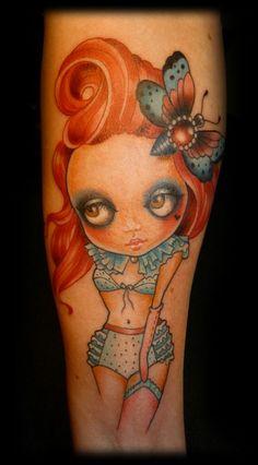 Candy Cane Art - Artwork & Tattoos ***** http://activelifeessentials.com/body-canvas/ #bodyart #tattoos