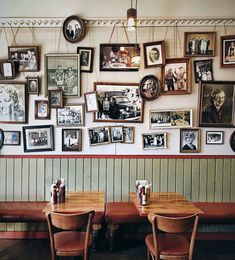 Portrait Wall, Cozy Place, Food Design, Gallery Wall, Dining, Wallpaper, Frame, Artwork, Delicatessen