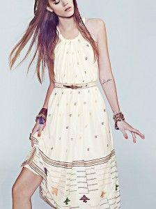 fp new romantics etched maxi dress