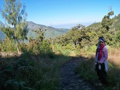 #hiking #moment #hijab #adventure #amazing #view #mountain