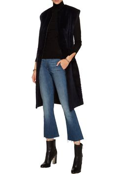 Shop on-sale Helmut Lang Shearling vest . Browse other discount designer Coats & more on The Most Fashionable Fashion Outlet, THE OUTNET.COM