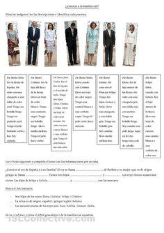 ¿Conoces a la familia real española?