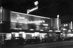 Tom Breneman's supper club in 1947 located on Vine Street just north of Sunset Blvd