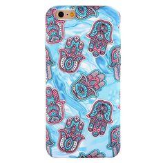 Coque Effet Tissu pour iPhone 6 / 6s Motifs Aztèques