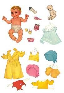 printable paper doll baby | Paper Dolls | Pinterest