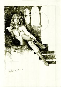 Jose Pepe Gonzalez - Vampirella (1980). Comic Art