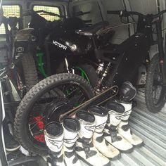 Instagram picutre by @jackfield1: Loaded the van with my favourite toys and ready to hit the streets of LA with @kortamfnt @rhiannabuchanan and the @bikesoverbangn crew! #flairriders #motopiamotorsports #bikesoverbangn #la #street #riding #stunts #trials #roadbike #electricbike #ebike #motorcycle #stealthelectricbikes #toys #bikelife - Shop E-Bikes at ElectricBikeCity.com (Use coupon PINTEREST for 10% off!)