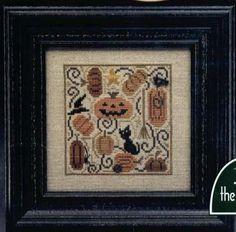 trilogy cross stitch | Secret Pumpkin Patch - cross stitch pattern by The Trilogy