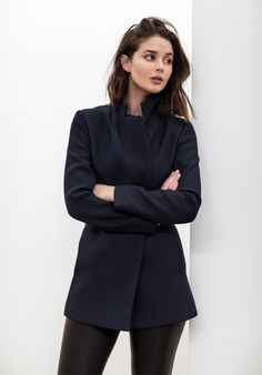 How to Style a Suit | Style | Minimal and Structured | Navy and Black |HarperandHarley
