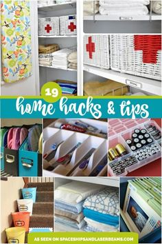 19 Amazing Home Organization Tips And Hacks Organizing Your Household