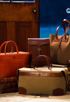 The Spring Summer capsule collection from Purdey combines classic safari style and luxurious performance fabrics, perfect for travel and outdoor pursuits. Fall Winter, Autumn, Leather Luggage, Travel Luggage, Winter Collection, Tote Bag, Lifestyle, Luxury, Classic