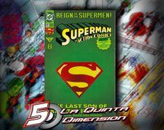 ACTION COMICS # 687 REIGN OF SUPERMEN, PRIMERA APARICIÓN DEL ERRADICATOR. $ 90.00 Para más información, contáctanos en http://www.facebook.com/la5aDimension