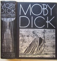 1930 Moby Dick FIRST EDITION Rockwell Kent illustrated Melville classic book