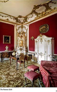 - the Rococo Suite. Peles Castle, Baroque Design, Rococo Style, Luxury Interior Design, Palaces, Versailles, Sims 4, Scotland, England