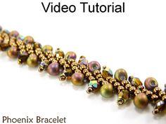 St. Petersburg Stitch Bracelet Video Tutorial by SimpleBeadVideos
