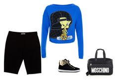 """""""Untitled #3541"""" by penelope1234567 ❤ liked on Polyvore featuring Moschino and Love Moschino"""