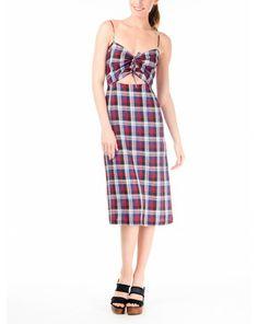 Rachel Comey Chernist Plaid Dress