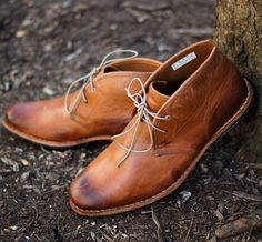 Burnished Chukkas.