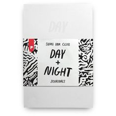 Plumb Notebooks Day + Night Journals (27 CAD) ❤ liked on Polyvore featuring home, home decor and stationery