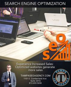Tampa SEO Agency is a digital marketing agency and SEO company in Tampa, Florida that offers web design, PPC, SEO services, and internet marketing services. Online Marketing Services, Seo Services, Internet Marketing, Seo Agency, Seo Company, Search Engine Optimization, Digital Marketing, Web Design, Content