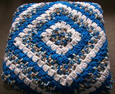 36in Square Crocheted Blanket / Baby Floor Blanket / Lap Blanket / Thick but  Lightweight Squishy and Soft / Great Baby Gift / Easy Care