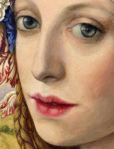 Girl with Tulip (detail), Victoria Francisco