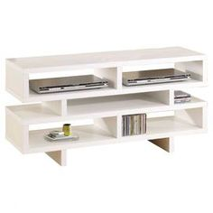 Rowan Media Console -totally going to DIY this for my living room Tv Stand Wayfair, Cool Tv Stands, Apartment Living, Living Room, All Modern, Decoration, Sweet Home, New Homes, House Design