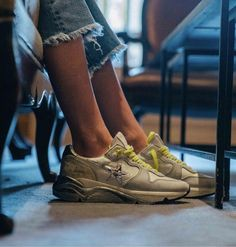 Explore the official Golden Goose Deluxe Brand website and discover our collection of sneakers, clothing, accessories and bags. Golden Goose, Running, Elegant, Sneakers, Handmade, Instagram, Fashion, Style, Classy