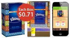Kleenex Tissues, Only $0.71 per Box at Walgreens!