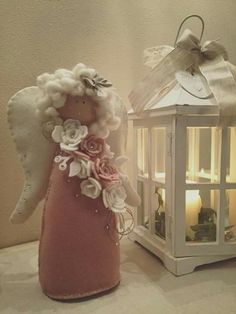 1 million+ Stunning Free Images to Use Anywhere Christmas Ornament Crafts, Christmas Crafts For Kids, Felt Christmas, Christmas Angels, Simple Christmas, Crafty Angels, Diy Angels, Hobbies And Crafts, Diy And Crafts